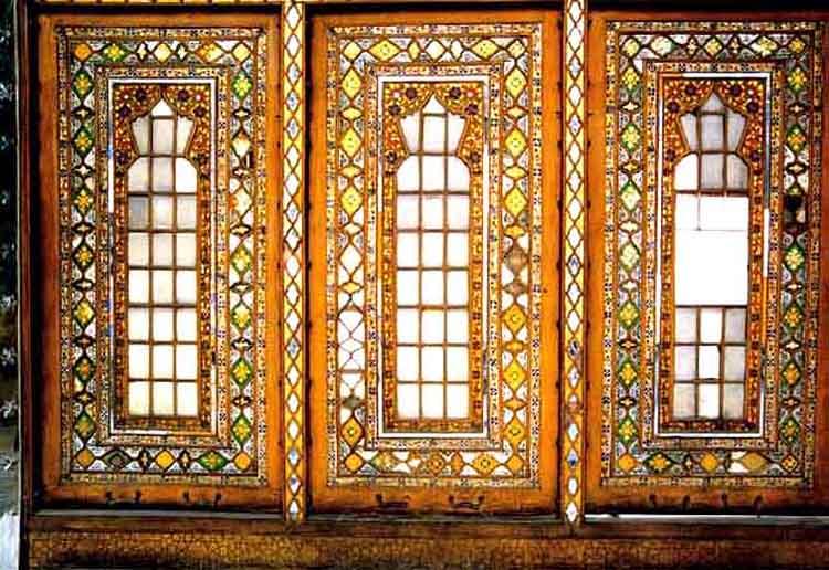 استفاده از شیشه در معماری شرقی